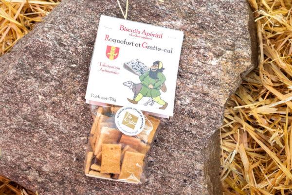 Biscuits Roquefort - La Sauvagine