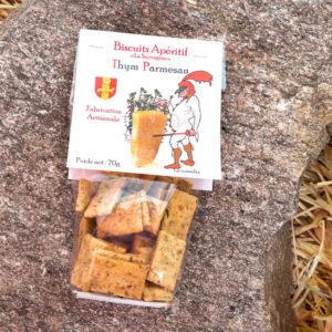 Biscuits Parmesan - La Sauvagine