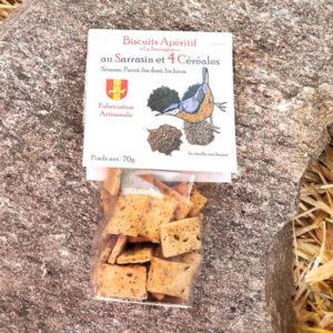 Biscuits Quatre céréales - La Sauvagine