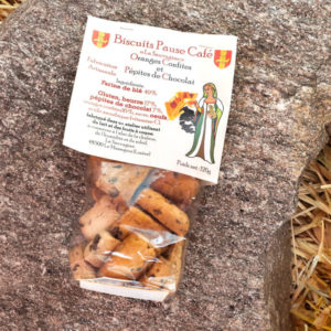 Biscuits Oranges - La Sauvagine