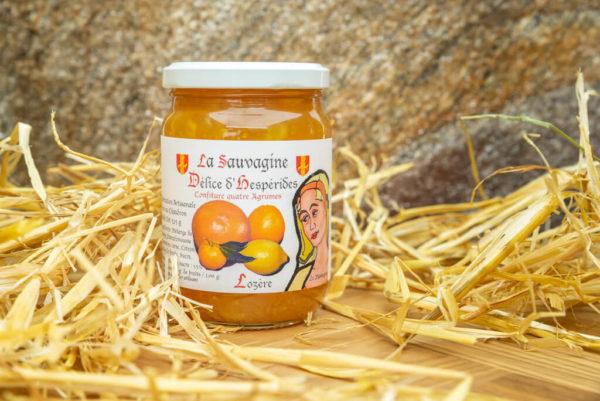 Confiture Quatre agrumes - La Sauvagine