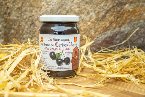 Confiture Cerises noires - La Sauvagine