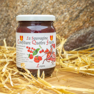 Confiture Quatre fruits - La Sauvagine