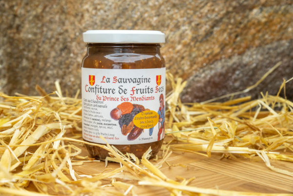 Confiture Fruits sec - La Sauvagine