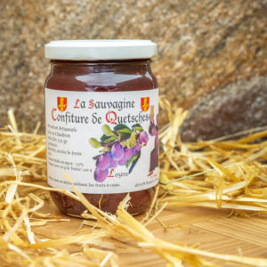 Confiture Quetsches - La Sauvagine
