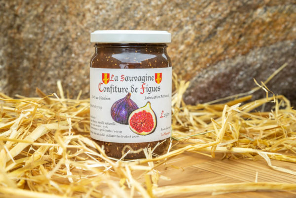 Confiture Figues - La Sauvagine