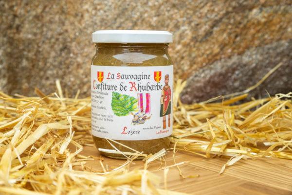 Confiture Rhubarbe - La Sauvagine