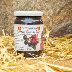 Confiture Cerises noires - groseille - La Sauvagine