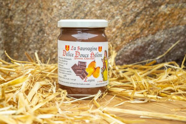 Délice Poires - chocolat - La Sauvagine