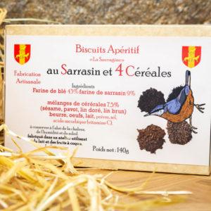 Biscuits 4 céréales - La Sauvagine