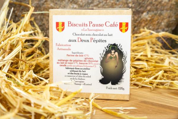 Biscuits 2 pépites - La Sauvagine