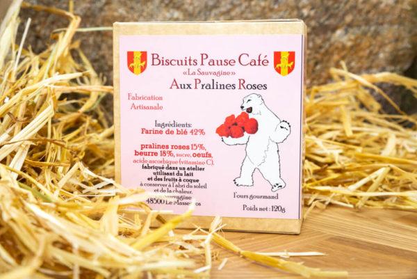 Biscuits Pralines roses - La Sauvagine