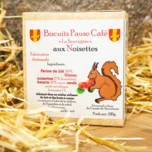 Biscuits Noisettes - La Sauvagine
