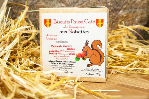 Biscuits Noisettes - La Sauvagine