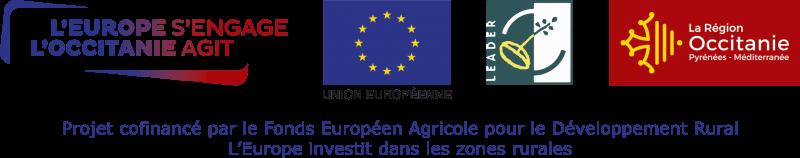 Projet cofinancé par le Fonds Européen Agricole pour le Développement Rural